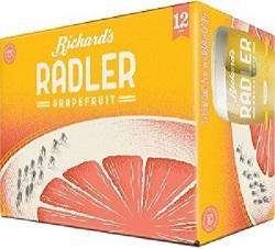 WOW!! Rickards Radler - 12x355ml - Save $4.00!! WOW DEAL!!