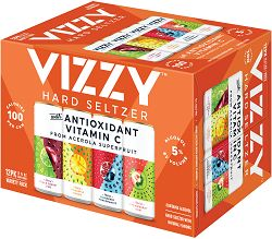WOW!! Vizzy Seltzers - 12x355ml - Save $5.00!! WOW DEAL!!