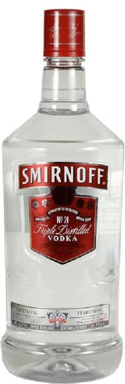 Smirnoff Red Label - 1.75L