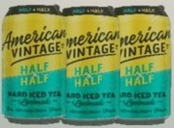 American Vintage Hard Tea - Half & Half - 6Pk - Save $1.70