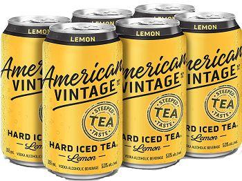 American Vintage Hard Tea - 6Pk - Save $1.70