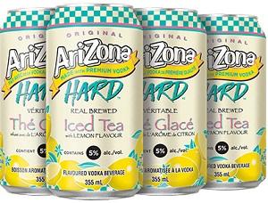 Arizona Hard Tea - Lemon - 6Pk - Save $1.65