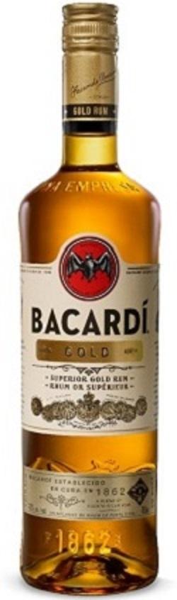 Bacardi - Gold Rum - 750ml - Save $1.60