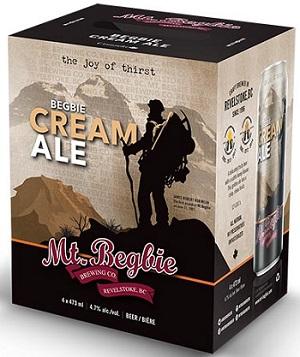 Mt.Begbie Brewing - Cream Ale - 4x473ml