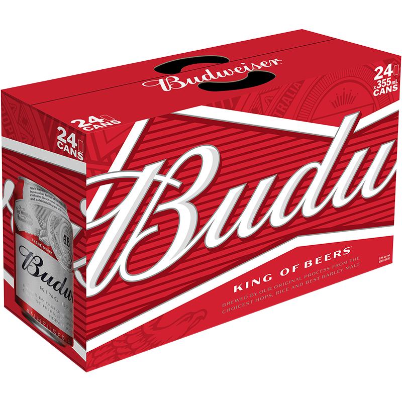 Budweiser - 24Pk - Save $2.00
