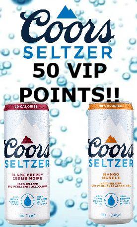 Coors Seltzer Black Cherry & Mango - 473ml
