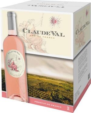 Claude Val Wines - Rose - 3L