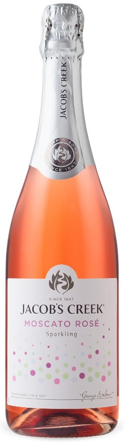 Jacob's Creek - Sparkling Moscato Rose - 750ml