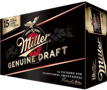 Miller Genuine Draft - 15Pk - Save $5.50