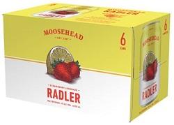 Moosehead - Strawberry/Lemon Radler - 6Pk - Save $1.60