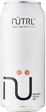 Nutrl Vodka Soda - Grapefruit - 473ml