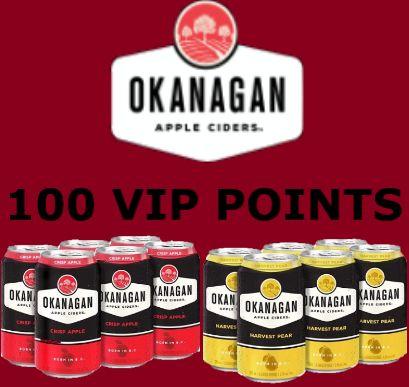 Okanagan Cider - Crisp Apple & Harvest Pear - 6Pk