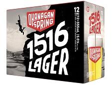 Okanagan Springs - 1516 Lager - 12Pk - Save $4.00