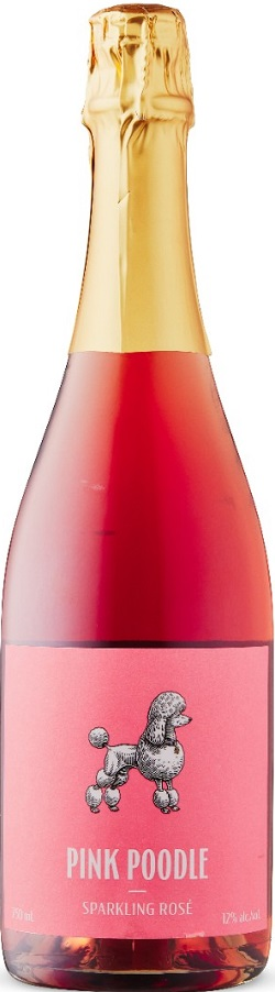 Pink Poodle Wines - Rose Sparkling - 750ml - Save $1.55
