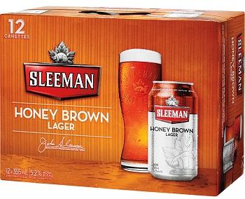 Sleeman - Honey Lager - 12Pk - Save $3.75
