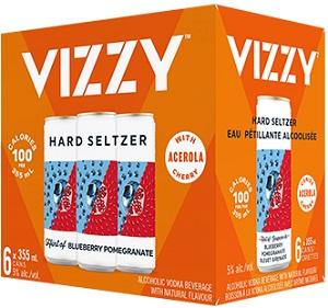 Vizzy Seltzer's - Blueberry/Pom - 6Pk - Save $4.90