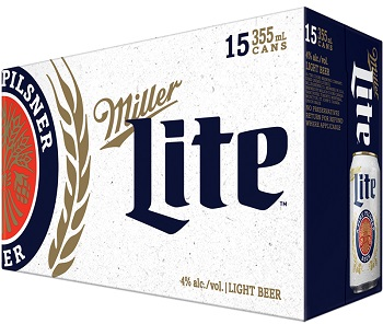 Miller Lite - 15Pk - Save $4.00