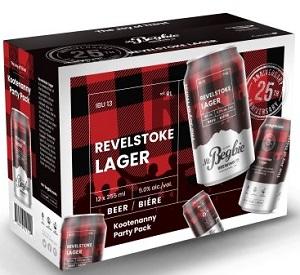 Mt.Begbie - Revelstoke Lager - 12Pk - Save $1.55