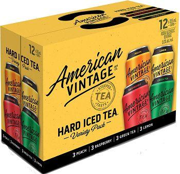 American Vintage Tea - Mixer - 12x355ml - Save $4.25