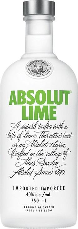 Absolut Vodka - Lime - 750ml - Save $3.30