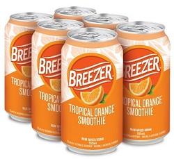 Bacardi Breezer - Tropical Orange - 6x355ml