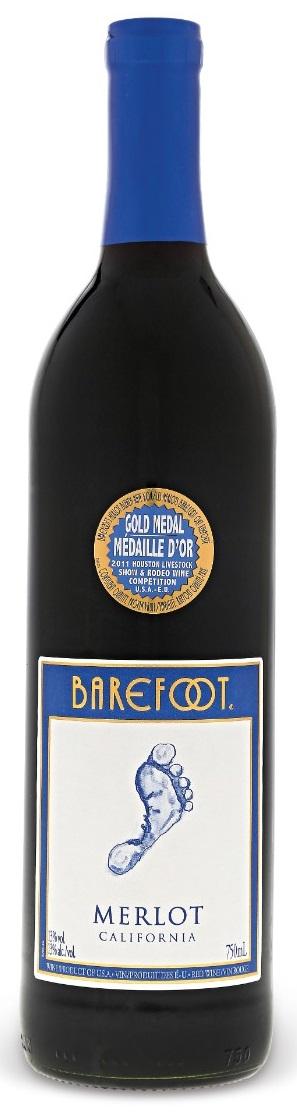 Barefoot Wine - Merlot - 750ml - Save $1.60