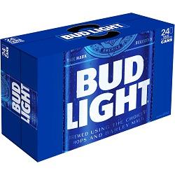 Bud Light Lager - 24x355ml - Save $4.00