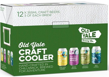 Old Yale Brewing - Summer Craft Pack - 12x355ml - Save $2.95
