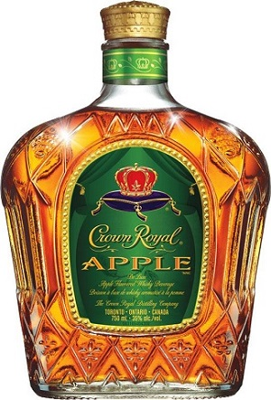 Crown Royal Canadian Whisky - Apple - 750ml - Save $2.40