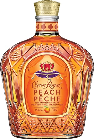 Crown Royal Canadian Whisky - Peach - 750ml - Save $2.40