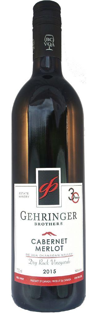 Gehringer Brothers Dry Rock Vineyards - Cabernet/Merlot - 750ml - Save $2.90