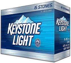 Keystone Light - 15x355ml - Save $2.25