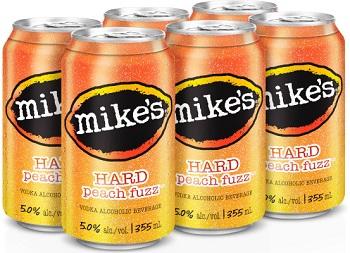 Mike's Hard - Peach Fuzz - 6x355ml - Save $1.65
