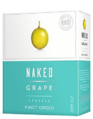 Naked Grape Wine - Pinot Grigio - 4L - Save $6.15