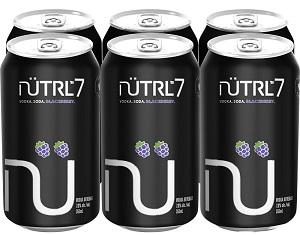 Nutrl 7% - Blackberry - 6x355ml - Save $1.70