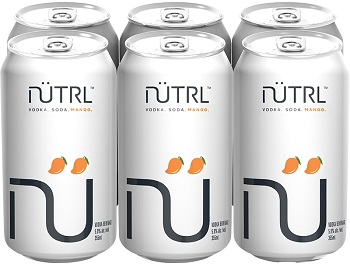 Nutrl - Mango - 6x355ml - Save $1.70