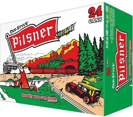 Old Style Pilsner - 24x355ml - Save $6.15
