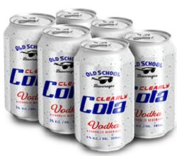 Old School Bev. - Clearly Cola - 6x355ml - Save $1.30