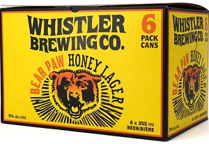 Whistler Brewing - Honey Lager - 6x355ml - Save $1.60