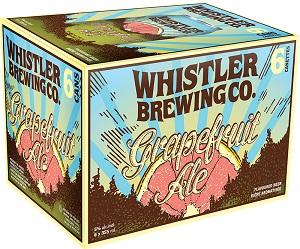 Whistler Brewing - Grapefruit Ale - 6x355ml - Save $1.25