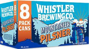 Whistler Brewing - Pilsner - 6x355ml - Save $2.45