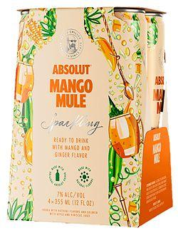 Absolut - Mango Mule - 4x355ml