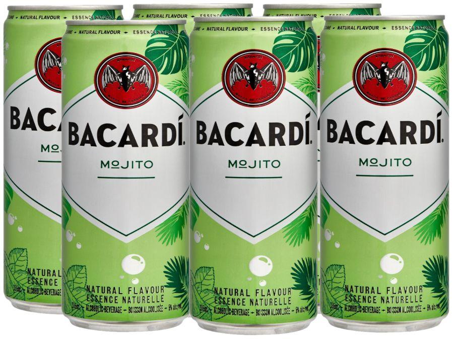 Bacardi - Mojito - 6x355ml