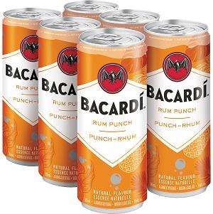 Bacardi - Rum Punch - 6x355ml