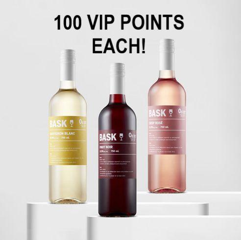 Bask 0g Wines - Sauvignon Blanc, Pinot Noir & Rose - 750ml