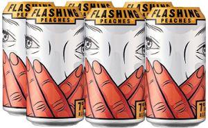 Jaw Drop Coolers - Flashing Peaches - 6x355ml