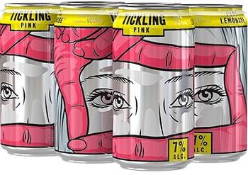 Jaw Drop Coolers - Tickling Pink Lemonade - 6x355ml