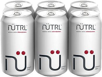 NUTRL - Cranberry - 6x355ml