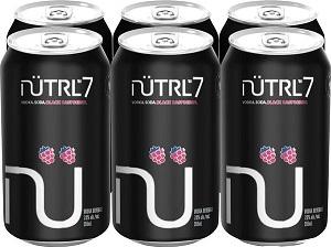 NUTRL 7% - Black Raspberry - 6x355ml