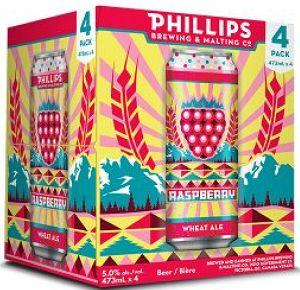 Phillips Brewing - Raspberry Wheat Ale - 4x473ml